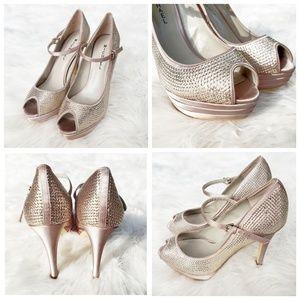 MICHAEL Michael Kors Shoes - Michael Kors Sequin Mary Jane Pumps
